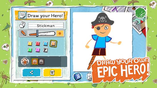 تحميل لعبة draw a stickman epic